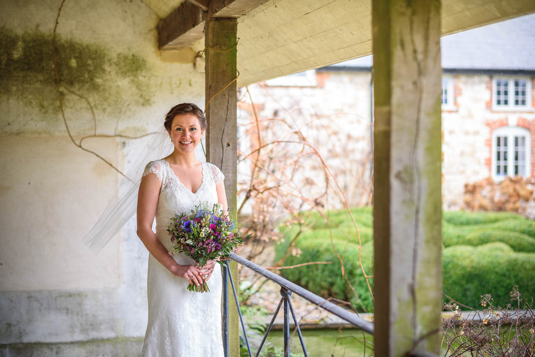 Ashley's Wedding at Bury Court Barn in Bentley