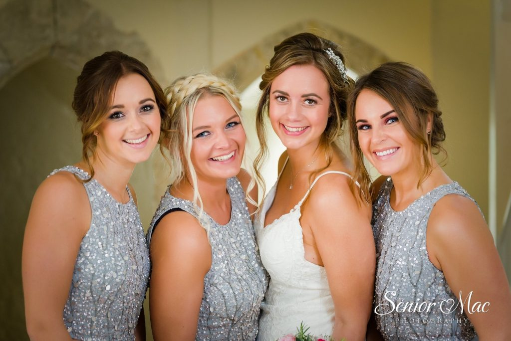 Jen Farnham Castle Bridal Party