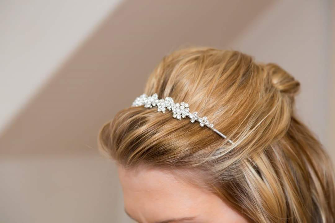 Lauren's Wedding Bridal Hair