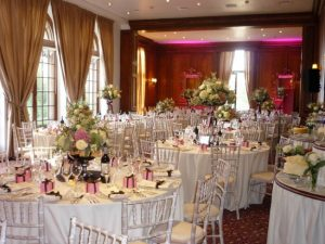 Hedsor House Tables Laid