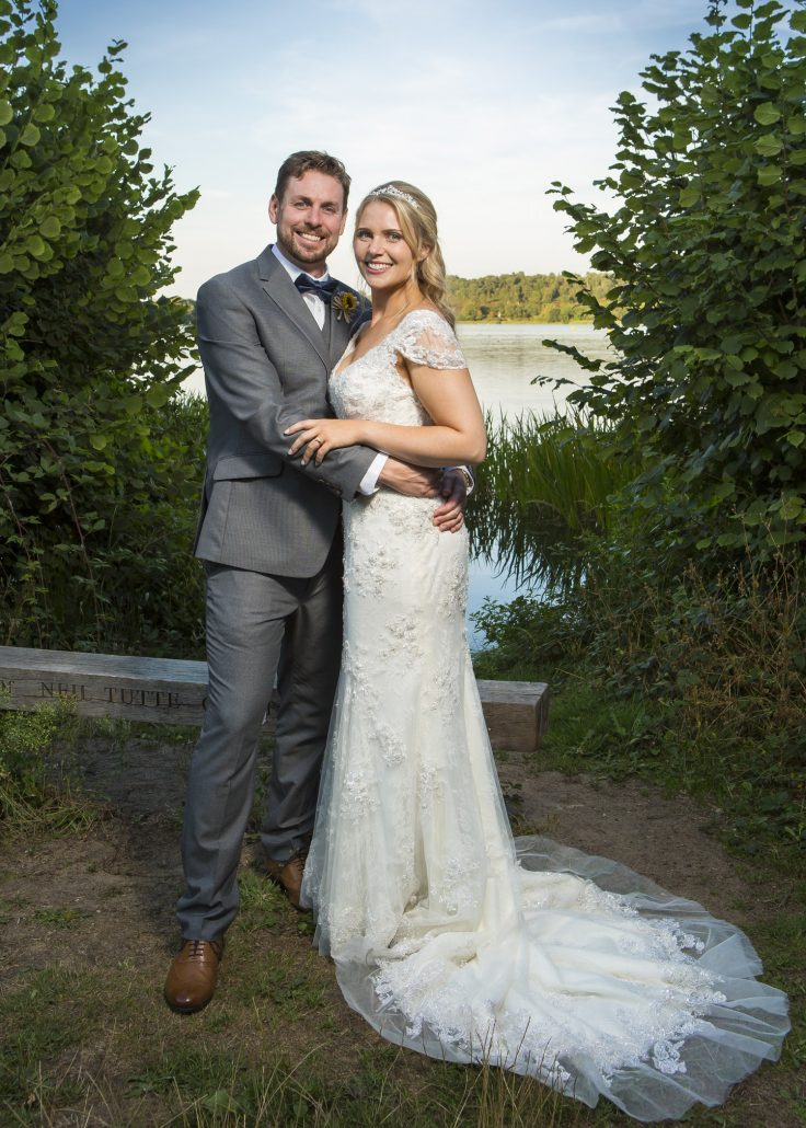 Lottie's wedding at The Frensham Pond Hotel in Surrey