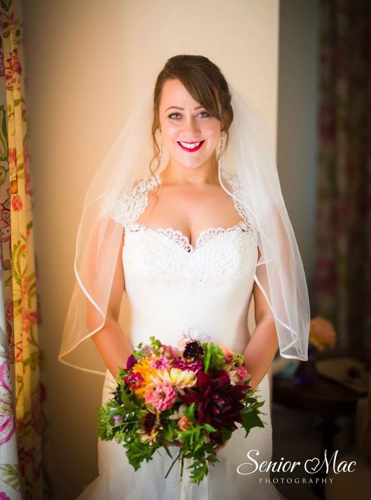 Hannah's Wedding Chawton House Finished Bridal Look
