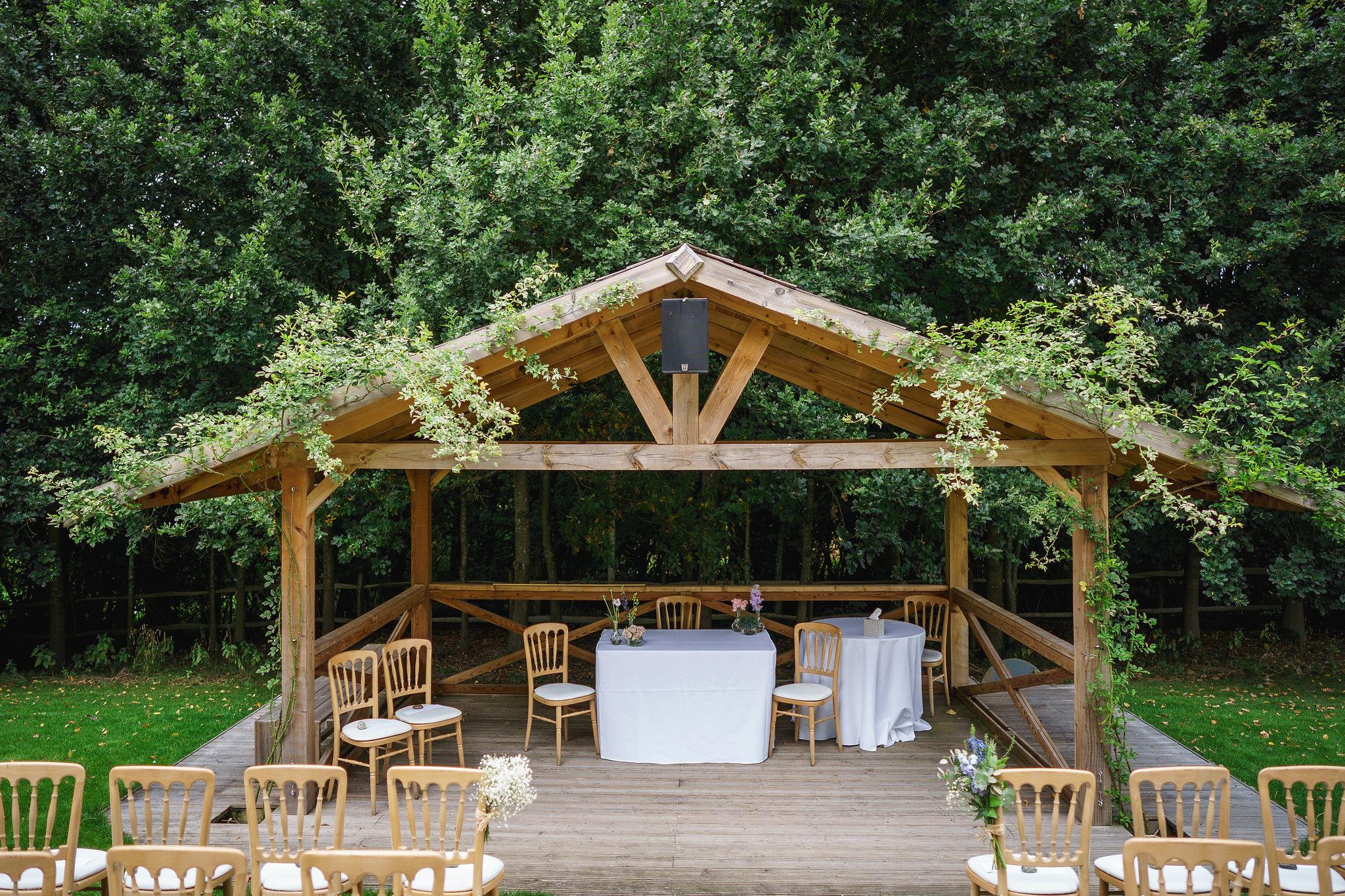 Esther Wedding at Bury Court Barn