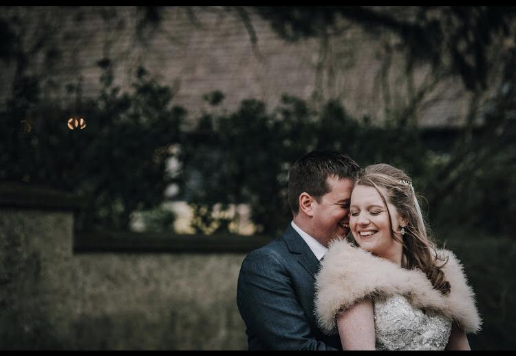 nikki wedding at clock barn