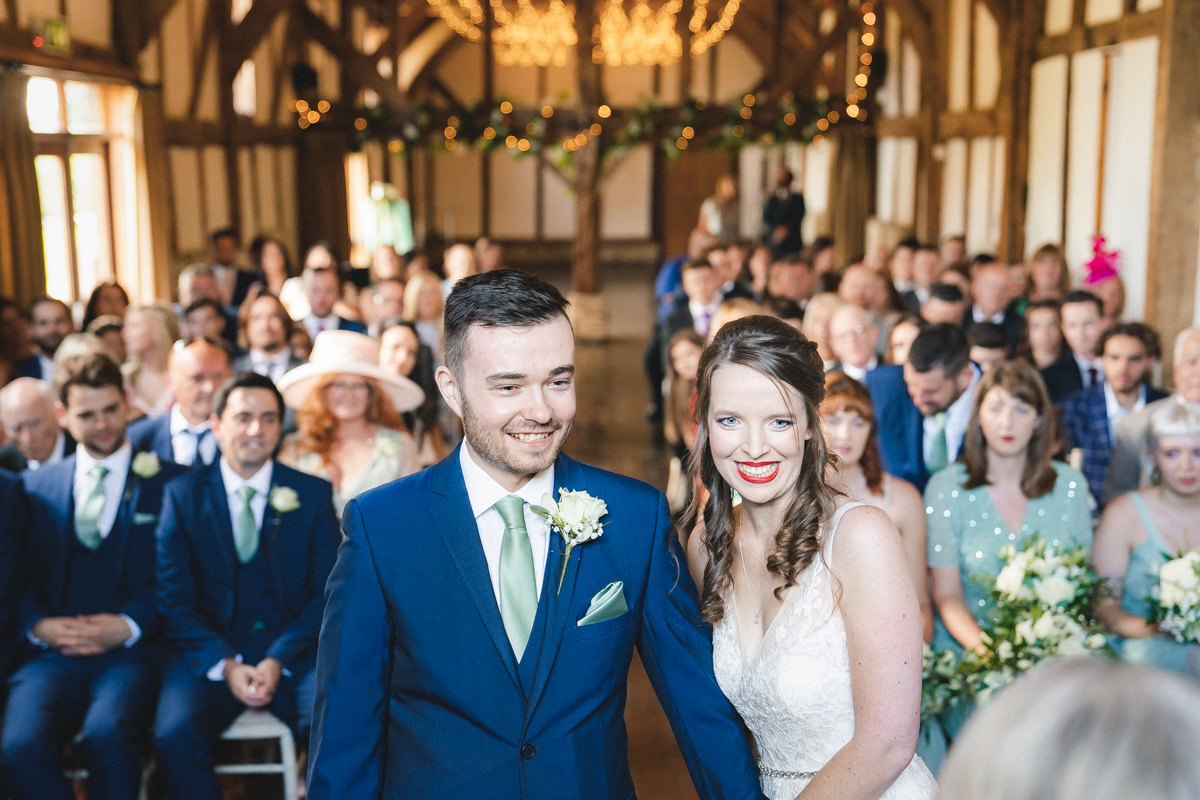 Katie's Wedding loseley park Godalming