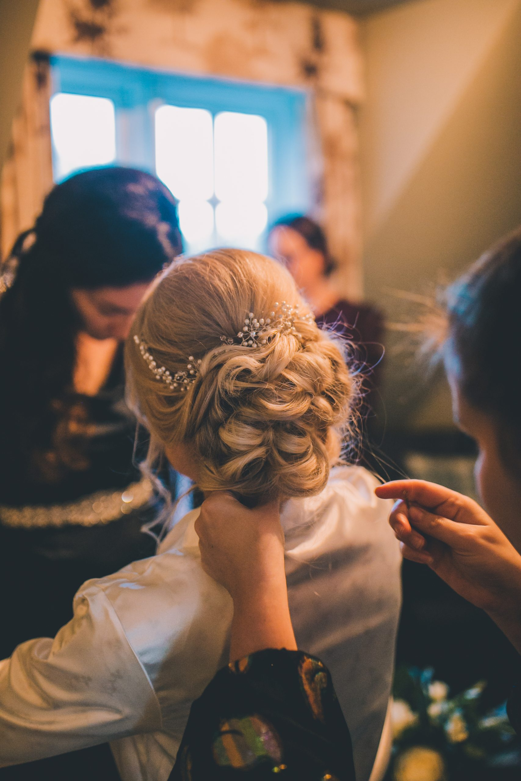 Wedding hair and makeup at Ramster