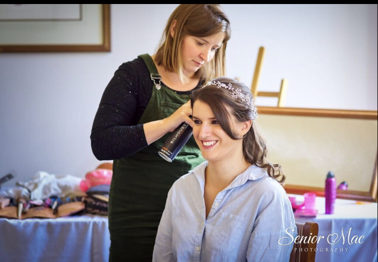 wedding hair and makeup newbury